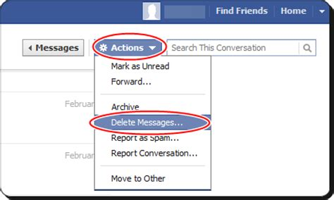 How To Permanently Delete Facebook Inbox Messages