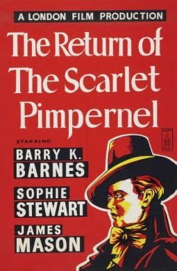 The Return of the Scarlet Pimpernel (1937) | A Humble