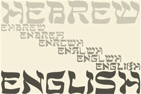 The Theory That English Came From Hebrew: The Israel