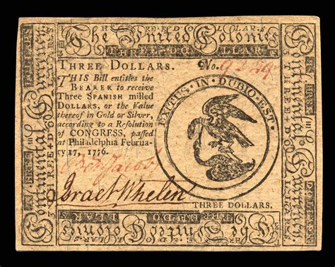 Continental Currency | Museum of the American Revolution