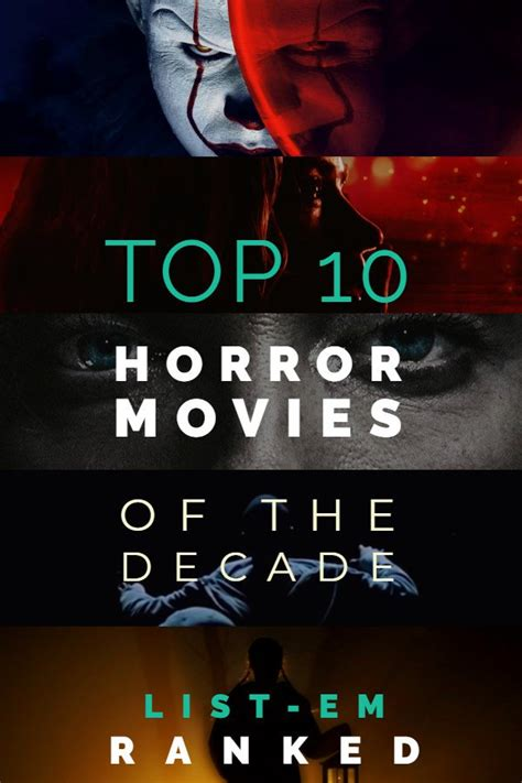 LIST-EM   Top Ten Best Horror Movies of the Decade: Ranked