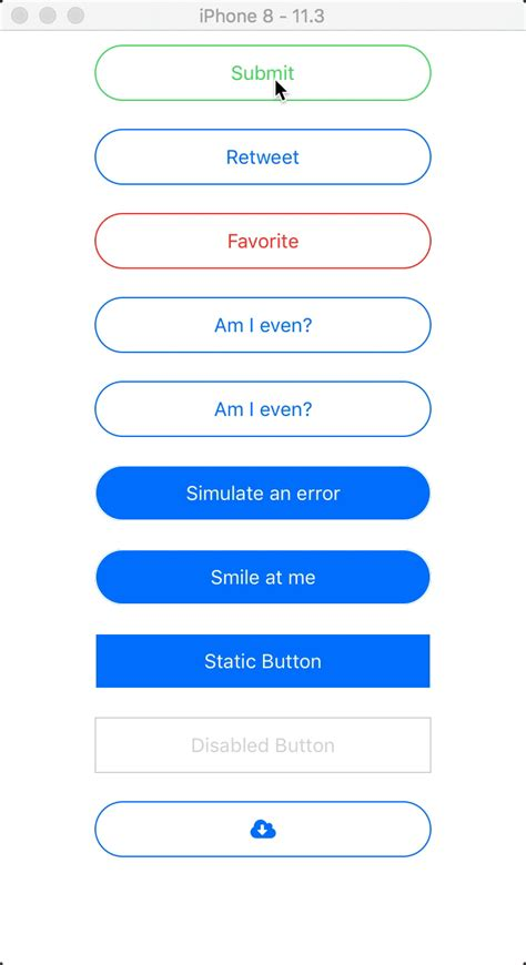 A stateful button component for React Native