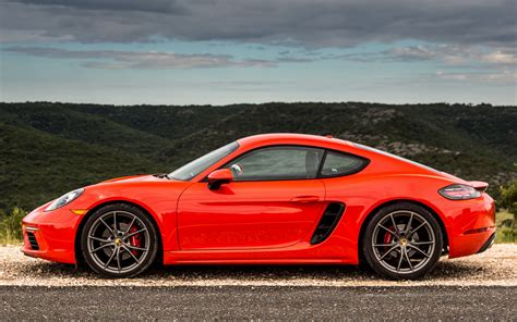 2017 Porsche 718 Cayman S (US) - Wallpapers and HD Images