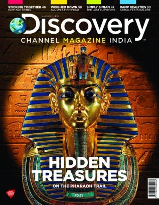 Discovery Channel Magazine March 2015 issue – Get your