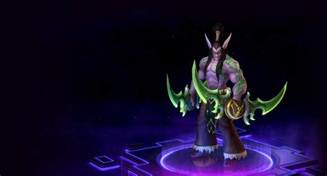 Heroes of the Storm: Illidan skins   Blizzard Watch