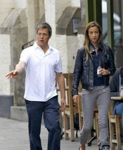 Great Hugh Grant Spotted With Anna Elisabet Eberstein In