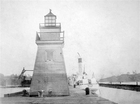Port Dover Lighthouse, Ontario Canada at Lighthousefriends