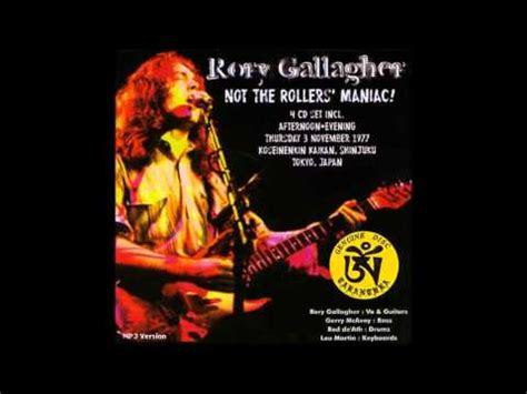 Rory Gallagher - Tokyo, Japan 1977 (Full Concert) - YouTube