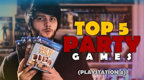 TOP 5 Party Games (for the PS4)! | 4-Player Splitscreen Co