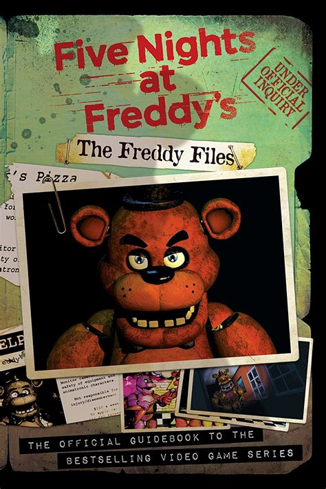 'Five Nights At Freddy's: The Freddy Files' Guide Book