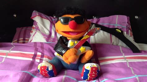 Tyco Animated Rock N' Roll Ernie (From Sesame Street