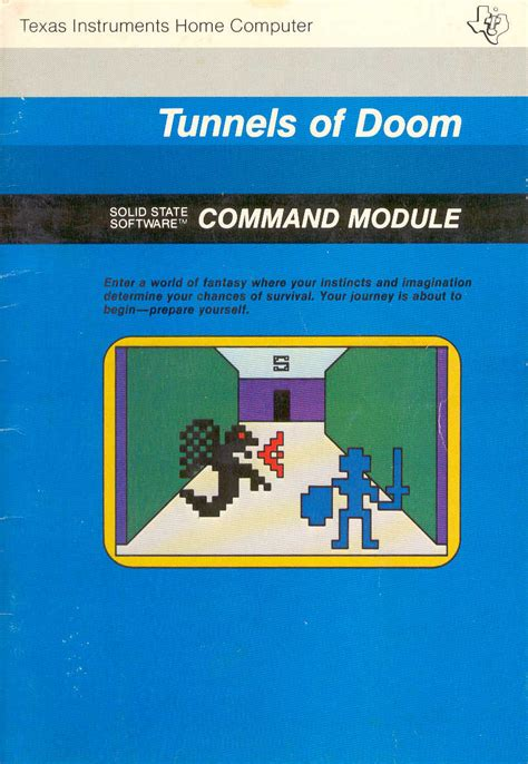 TI-99/4A Videogame House - Tunnels of Doom