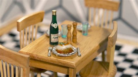 'Tiny Kitchen' Videos Cook Up Real Food In Doll-Sized