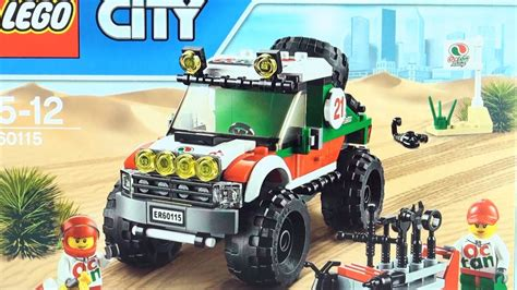 LEGO CITY 4 x 4 Off Roader 60115 - Lego Race Car with pit