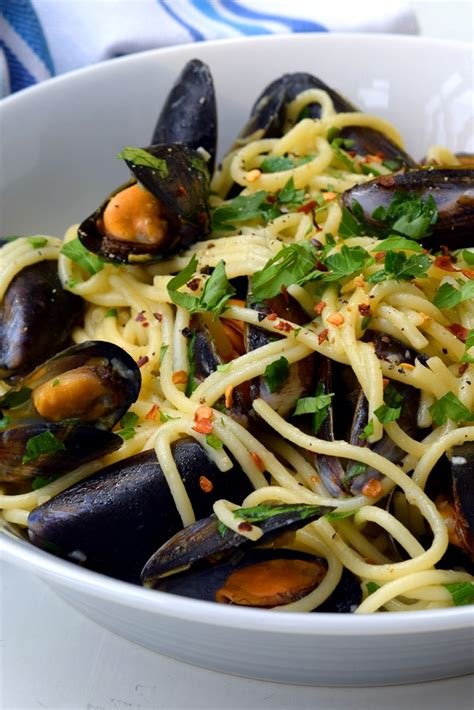 Spaghetti with Mussels Recipe - Great British Chefs