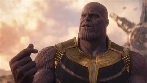Ring in the New Year with Thanos' INFINITY WAR Snap - Nerdist