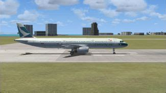 Cathay Pacific Airbus A321 for FSX