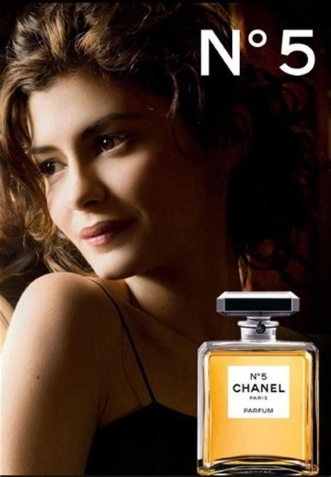 2012, Audrey Tautou as the Chanel No