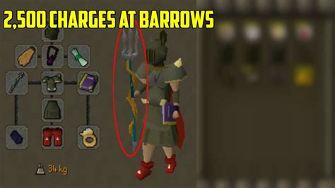 OSRS - Loot From 2,500 Charges At Barrows! (Trident Of The
