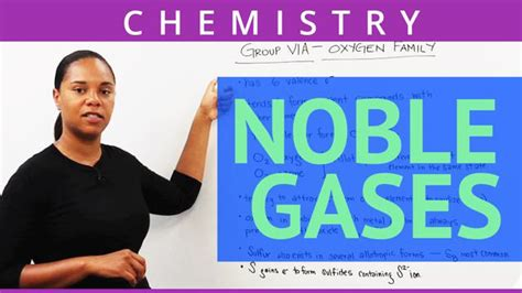 Noble Gases - Concept - Chemistry Video by Brightstorm