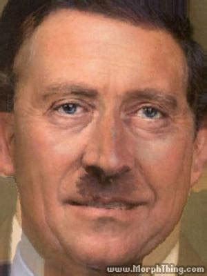 Prince Charles and Adolf Hitler (Morphed) - MorphThing