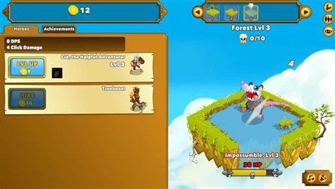 Clicker Heroes spil - FunnyGames