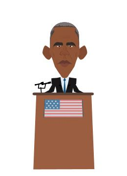 Speaking Barack Obama GIF by Animatron - Find & Share on GIPHY