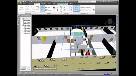 Navisworks Manage - Reviewing and Marking Up a Model - YouTube