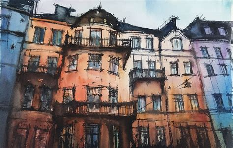 Stockholm in 2020 | Watercolor, Watercolour inspiration