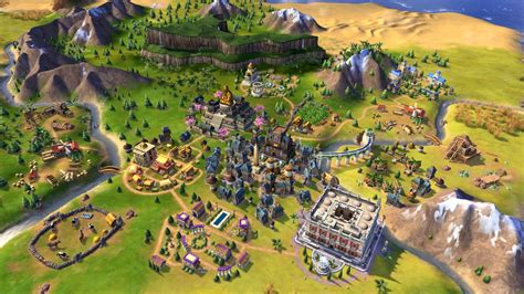 Civilization 6 is heading to PS4 and Xbox One this November