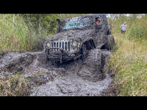Poison Spider Trail, Moab Jeep JK Rubicon Offroad - YouTube