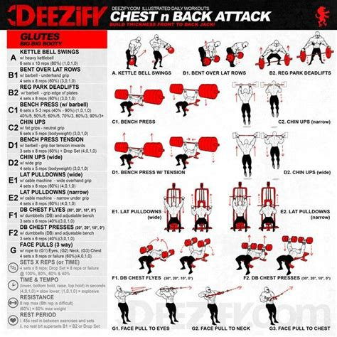 Workout: Chest n Back Attack