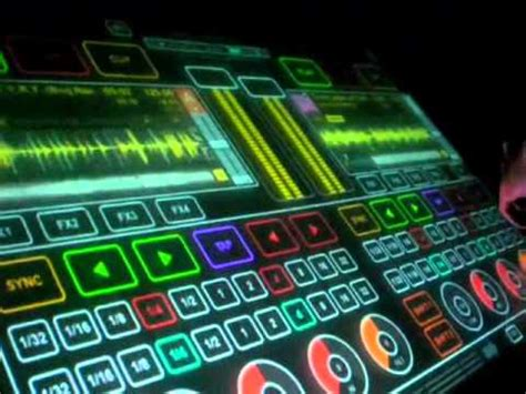 HoloDesk Holographic Console - The Original DJ Touch