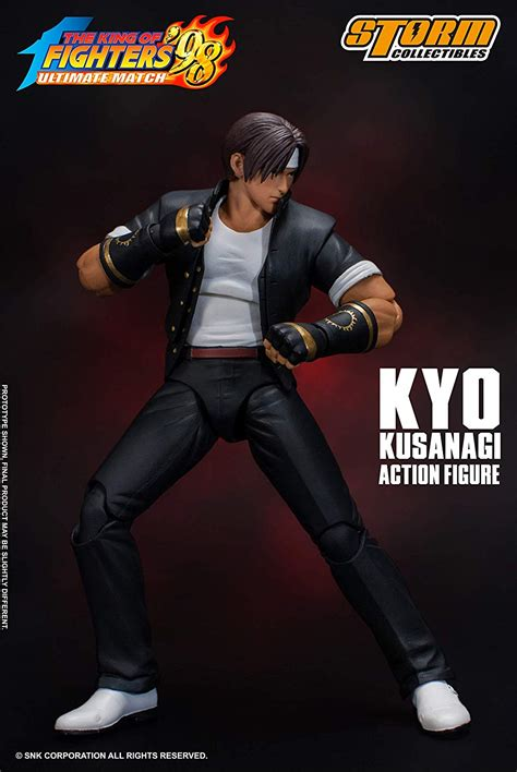 """Action Figure Kyo Kusanagi 7"""": The King Of Fighters '98"""