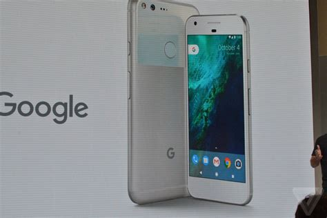 Pixel 'phone by Google' announced - The Verge