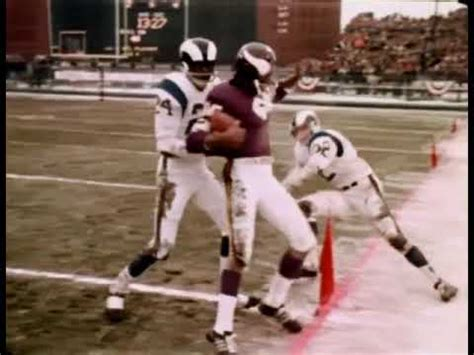 1969 NFL Div Playoff Rams at Vikings - YouTube