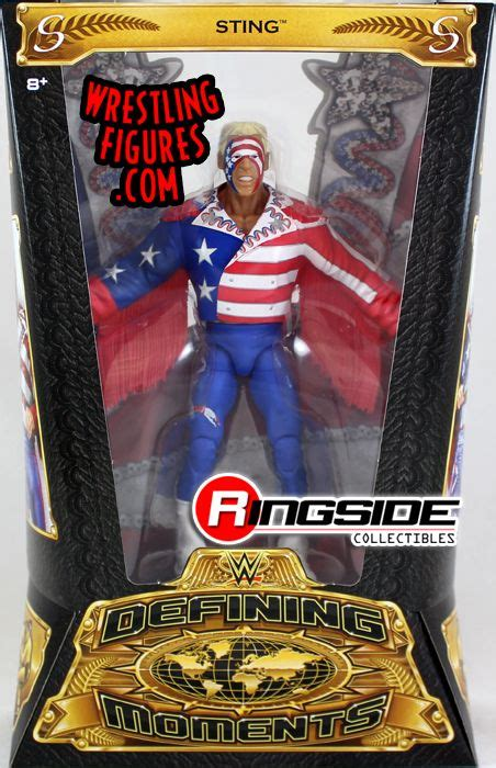 """""""Great American Bash"""" Sting - WWE Defining Moments WWE Toy"""