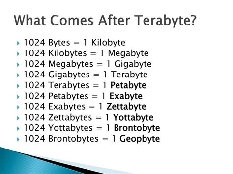 PPT - How Big Is a Terabyte? PowerPoint Presentation, free