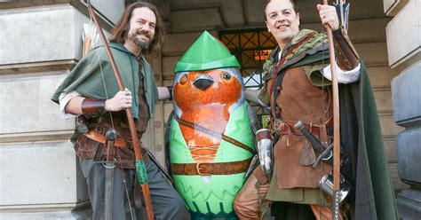 A new Robin Hood movie is on its way, and Nottingham is