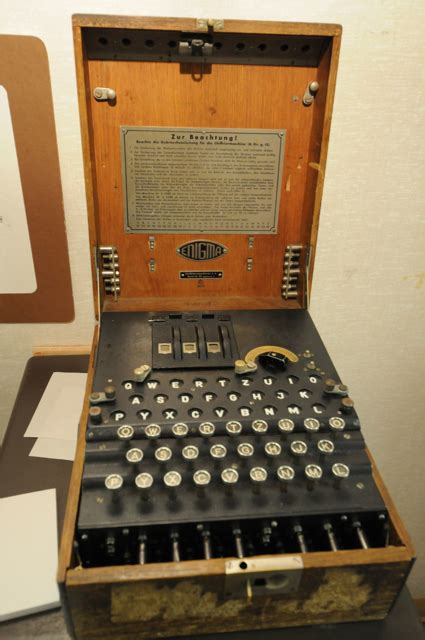 Breaking the Nazis' Enigma codes at Bletchley Park (photos