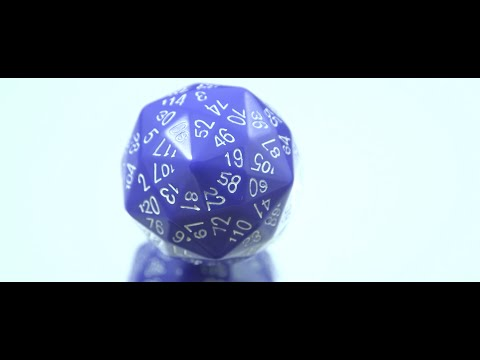Critical Hit Gaming Dice Light Up When You Roll The