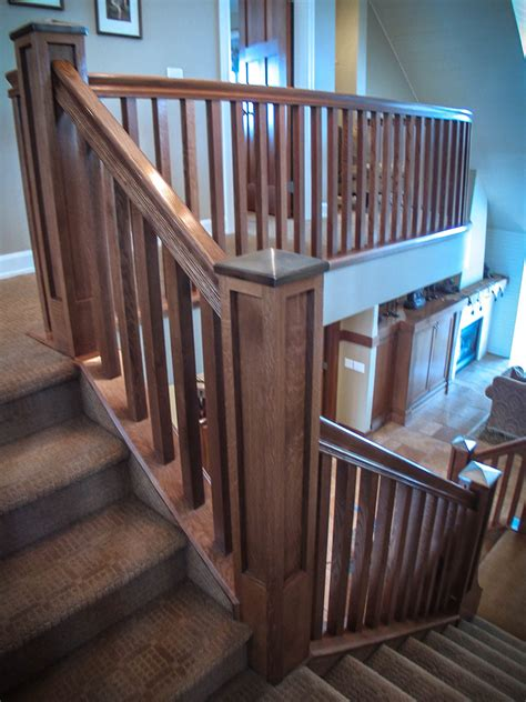 Mission-Style Staircase & Railings   Artistic Stairs
