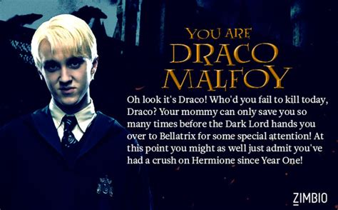 Draco Malfoy - Which Death Eater Are You? - Zimbio