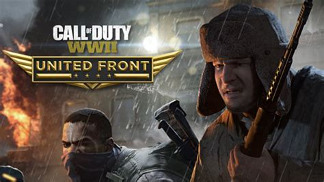 Call of Duty WWII DLC, United Front, Launches Next Week