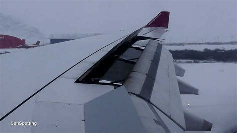 Air Greenland Airbus A330-200 - Low Visibility Cabin View