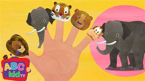 Finger Family - Animals | CoCoMelon Nursery Rhymes & Kids