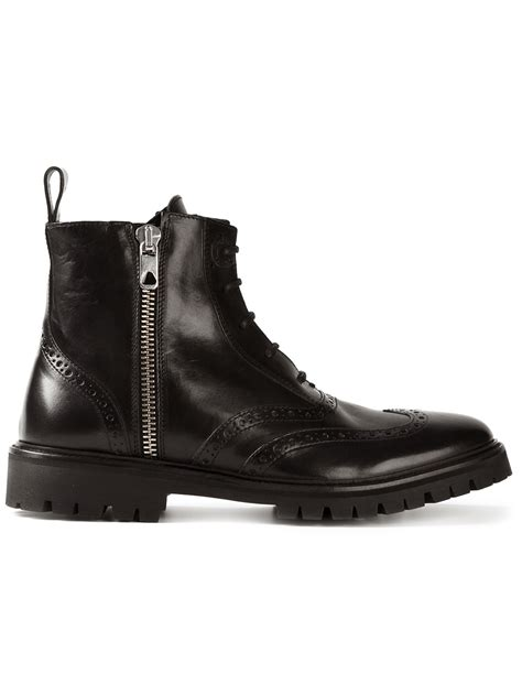 Diesel Black Gold 'Chief' Boots in Black for Men - Lyst