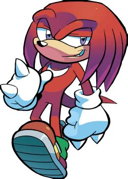 Archie Comics' Sonic the Hedgehog - Knuckles and the