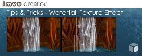 there are a few subtle tricks to making a waterfall