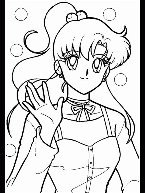 Sailor Jupiter Coloring Pages - Coloring Home